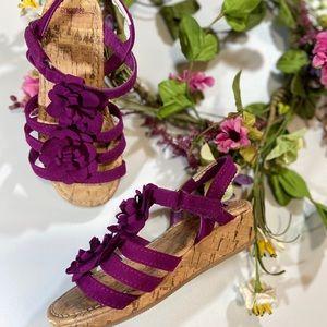 Gymboree Purple Sandals size 7